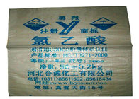 High Load Garbage PP Woven Sack Bags Recyclable For Sand / Buliding Material
