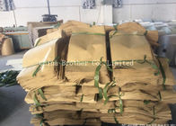 Recyclable Sewn Open Mouth Paper Bags , Brown Paper Bag For Packing Cement