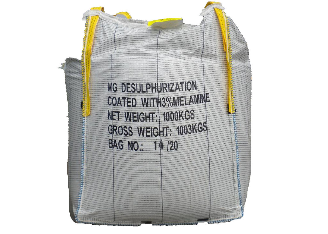 Polypropylene Big FIBC Jumbo Bags 4 Handle Large Capacity For Packing Silica Sand